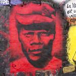 Joseph Kony, painted portrait P1040746