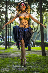 Forest Warrior (CronicasVicino) Tags: forest dance danza sony floating 55mm bosque warrior alpha f18 float partners levitacion a77 chapultepec guerrera a7r