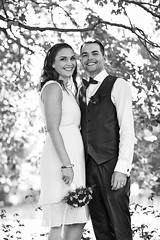 Kristn & sgeir (LalliSig) Tags: wedding summer portrait woman sun white man black iceland blurry photographer bokeh gray sunny portraiture