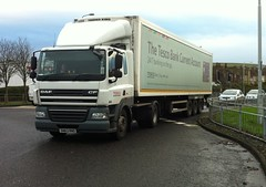 SN63 RNO (Cammies Transport Photography) Tags: road truck tesco lorry kings supermarkets cf daf rosyth rno sn63 sn63rno