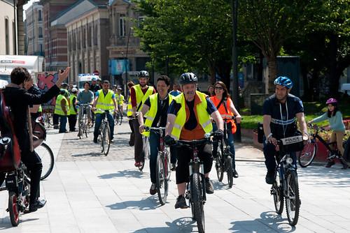 Fête du vélo - Mai 2014 © C. Fillieule