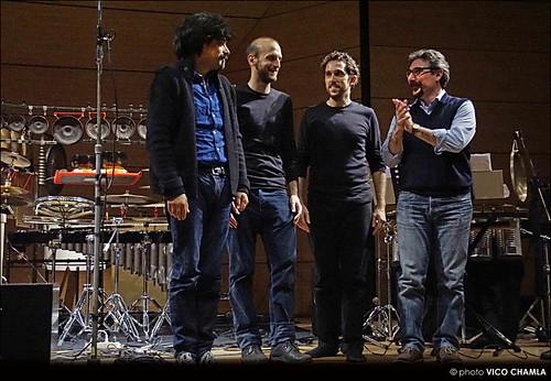 Con Mauro Montalbetti e Giovanni Mancuso