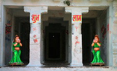 Rajiv Lochan (novarex1) Tags: india green statue temple women rajiv lochan chhattisgarh