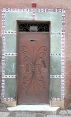Marrakech (nicnac1000) Tags: street door doorway morocco maroc marrakech souk medina marrakesh