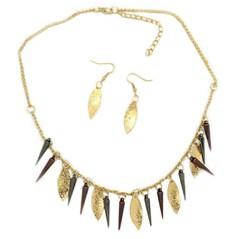 5th Avenue Gold Necklace P2011A-4