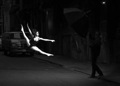 Street Ballet (slightheadache) Tags: street nyc newyorkcity ballet newyork dancers manhattan dancer 2014 streetballet