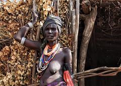 Arbore Woman, Lower Omo Valley, Ethiopia (MeriMena) Tags: africa travel women tribes omovalley ethiopia arbore portrates canon450d merimena