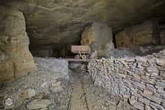 Indiana Jones Quarry [revisit] (Urbex Diary) Tags: light urban water canon underground lost see jones wasser mine place explorer indiana led abandon cave exploration quarry ue untergrund urbex schiefer lenser minire 5dmk2