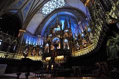 Notre-Dame Basilica – Montreal - Quebec - Canada - By Amgad Ellia 14 (Amgad Ellia) Tags: canada by quebec montreal basilica notredame amgad ellia –