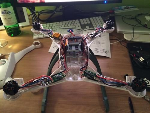 Blade 350qx 2 hood change