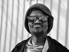 man sunglasses dallas downtown texas homeless raybans thecedars regentrifaction