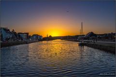Sunset - Coucher de soleil (jyleroy) Tags: sunset france canon landscape eos brittany europe bretagne breizh coucherdesoleil finistère landerneau elorn 700d