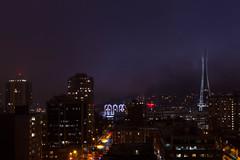 Seattle Mist (azote_verde) Tags: seattle fog space needle pike warwick