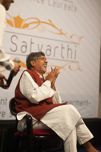 Kailash Satyarthi - Nobel Peace Peace Prize Laureate 2014 at SPJIMR, Mumbai