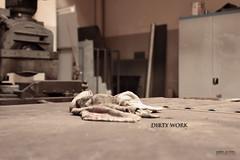 dirty work (peter pirker) Tags: work canon austria österreich kärnten peter dust makro dreck arbeiten tuch sättigung peterfoto eos550d peterpirker toowel crinathia