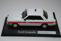 1:43 scale 1981 Northumbria Police Ford Granada Mk2 Traffic Car (T.O.T. Models) Tags: ford scale car traffic police northumbria granada 1981 mk2 143