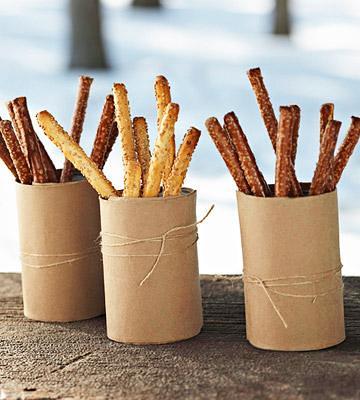 Tube Pretzel Sticks