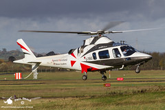 G-TRNG (Paul Beale Photography) Tags: airport power aircraft aviation gloucestershire helicopter academy westland bristow staverton agusta rotory trng aw109 gtrng