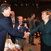 Mauricio Macri junto a la canciller de Alemania Angela Merkel
