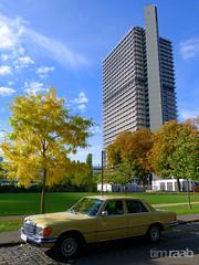 Mercedes-Benz W 116 (TIMRAAB227) Tags: bonn mercedesbenz daimler rheinaue regierungsviertel sclass langereugen sklasse w116