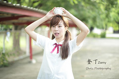 -Zamy (Chris Photography~) Tags: show girl canon student model taiwan 85mm sunny explore kaohsiung excellent  taipe excellentshot 50l 5d3