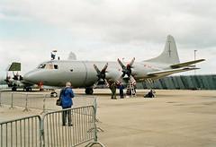 594 RNZAF Orion, Waddington 29-6-02e (Proplinerman) Tags: 2002 aircraft orion lockheed turboprop waddington p3 royalnewzealandairforce