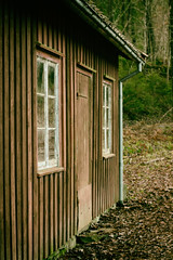 The Old Little House (Ludvius) Tags: wood old house norway forest vintage lillesand austagder kaldvell ludovicophotography wwwludovicophotocom