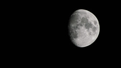 Moon (Northern Kev) Tags: moon nikon alone space crater emptyness 70300 d3200