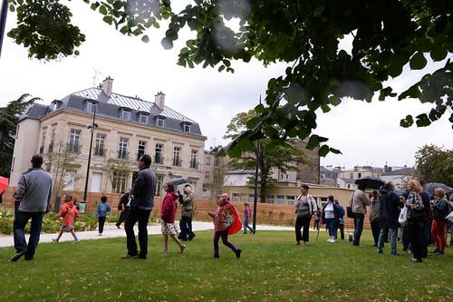 Inauguration Square Condroyer - juillet 2014 © W. Vainqueur