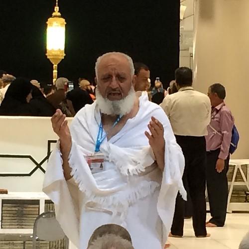 Üzeyir Sunguralp hocamız Rahmet Turizm umrecilerimizle beraber duada...