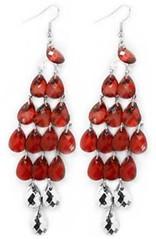 Sunset Sightings Red Earrings P5921-1
