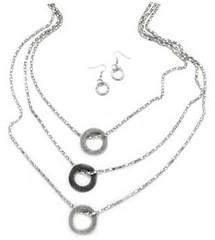 5th Avenue Silver Necklace K1 P2210-3 (2)