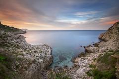 Serenity (Ricky92f) Tags: sea sky canon landscape sigma serenity sicily 1020 frisco riccardo haida mongerbino 550d nd1000 trepiscine