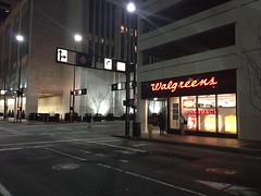 Downtown Cincinnati Walgreens (pasa47) Tags: ohio midwest december parkinggarage cincinnati oh rustbelt cincy 2014