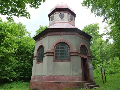 Kaplica Biczowania w Bardzie na stokach Różańcowej