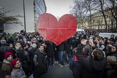 La grande Cur de Charlie (Alexander JE Bradley) Tags: france love march grande nikon heart protest demonstration amour gigantic fr bastille 75012 cur placedelabastille 2470mmf28 d7000 parisledefrance 11012015 alexanderjebradley carliehebdo faubourgesaintantoinne jesuisparis jesuischarlie
