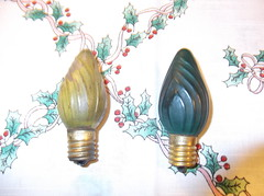 very Early Imported c9 christmas bulbs (brown_dan72) Tags: christmas 1920s bulb antique tungsten 1930 c9 imported 120volt
