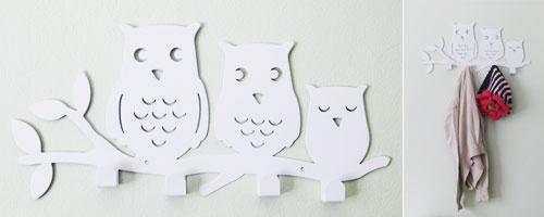 Patère family Owl