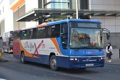 Stagecoach East Midlands 53216 SV54EKZ (Will Swain) Tags: uk travel england bus buses station scotland britain yorkshire north transport january east western 10th hull stagecoach interchange midlands paragon 2015 53216 sv54ekz