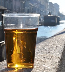 Birra del giorno prima. (GiannLui) Tags: funny shot milano odd striking birra mosca naviglio singular outoftheordinary strikingshot