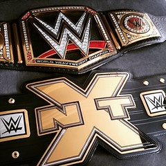 (imranbecks) Tags: logo championship belt big x replica network title wwe nxt instagram