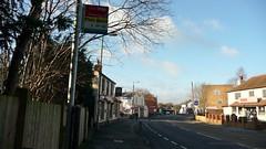 HCC bus cuts: 30 on Minley Road (bobsmithgl100) Tags: bus cove hampshire stop farnborough route30 route2 route42 coveroad