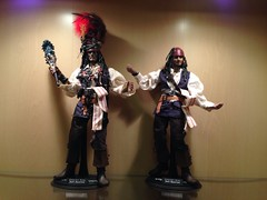 1/6 Cannibal Jack Sparrow Version 1 & 2 (Sky1328) Tags: jack king pirates sparrow actionfigures caribbean cannibal iflickr hottoys 16scale
