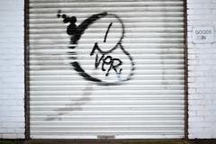 EVER (Kalimbah!) Tags: london graffiti paint ever bombing londongraffiti