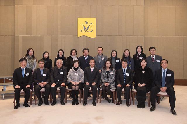 與慈善機構茶聚 Tea reception with charitable organizations (2015.01.12)