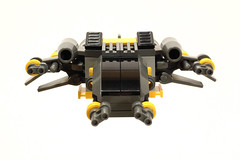 MiningScout_4 (breaksbricks72) Tags: scale ship lego space scout micro ideas miner