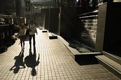Couple in Bangkok - Thailand (PascalBo) Tags: street shadow people woman man thailand nikon couple asia southeastasia bangkok femme capital thalande ombre asie capitale rue homme d300 asiedusudest pascalboegli