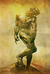 Rodin's Adam as 1st David (ellynwriting - slowmode) Tags: david adam jerusalem ago michelangelo rodin williamblake artgalleryofontario