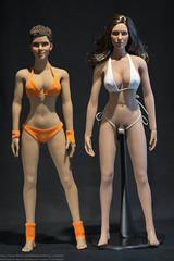 Phicen v4 vs. v5.1 Body Comparison (edwicks_toybox) Tags: stainlesssteel pale suntan halleberry 16scale femaleactionfigure phicen seamlessbody