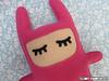 Pink (selmakuwahara_art) Tags: cute rabbit boneco feltro coelho